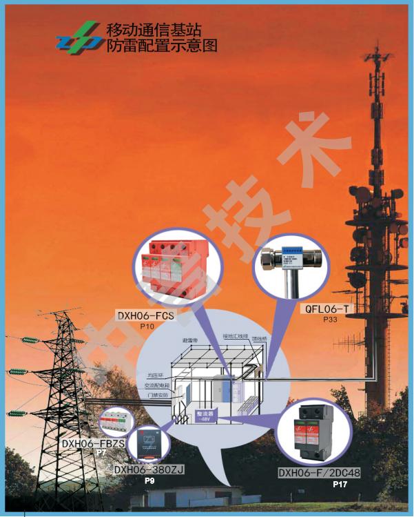 移动通信基站防雷配置示意图.png